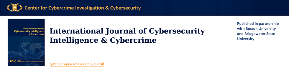 International Journal of Cybersecurity Intelligence & Cybercrime