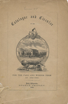Catalogue and Circular of the State Normal School, Bridgewater, Mass., Fall/Winter Term, 1859-1860 by Bridgewater State Normal School