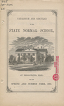 Catalogue and Circular of the State Normal School at Bridgewater, Mass. for the Spring and Summer Term, 1865