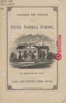 Catalogue and Circular of the State Normal School at Bridgewater, Mass. for the Fall and Winter Term, 1867-68