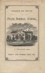 Catalogue and Circular of the State Normal School at Bridgewater, Mass. for the Spring and Summer Term, 1868
