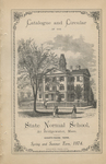 Catalogue and Circular of the State Normal School at Bridgewater, Mass. Eighty-Third Term. Spring and Summer Term, 1874