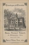 Catalogue and Circular of the State Normal School at Bridgewater, Mass., Ninety-Sixth Term. Fall and Winter Term, 1880 by Bridgewater State Normal School