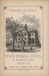 Catalogue and Circular of the State Normal School at Bridgewater, Mass. Ninety-Fifth Term. Spring and Summer Term, 1880 by Bridgewater State Normal School