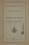State Normal School at Bridgewater, Mass., Catalogue and Circular. Forty-Seventh Year, ending July 1, 1887