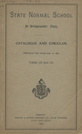 State Normal School at Bridgewater, Mass. Catalogue and Circular. Fifty-fourth Year, ending Aug. 31, 1894. Terms 122 and 123 by Bridgewater State Normal School