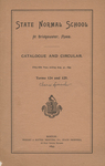 State Normal School at Bridgewater, Mass. Catalogue and Circular. Fifty-fifth Year, ending Aug. 31, 1895.  Terms 124 and 125