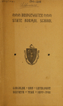Bridgewater State Normal School Circular and Catalogue. Sixtieth Year, 1899-1900. Terms 134 and 135