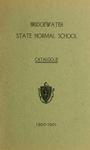 Bridgewater State Normal School Catalogue. 1900-1901. Terms 136 and 137 by Bridgewater State Normal School