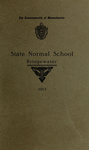 Bridgewater State Normal School. Massachusetts. 1913 [Catalogue]