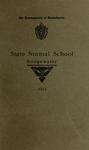 Bridgewater State Normal School. Massachusetts. 1913 [Catalogue] by Bridgewater State Normal School