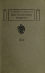 Bridgewater State Normal School. Massachusetts. 1918 [Catalogue]