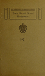 Bridgewater State Normal School. Massachusetts. 1921 [Catalogue]
