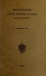 Bridgewater State Normal School. Massachusetts. 1929 [Catalogue]