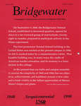 Bridgewater Magazine, Volume 1, Number 2, Autumn 1990