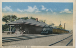 Railway Station, Bridgewater, Mass.