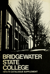 Bridgewater State College 1973-1974 Catalogue Supplement by Bridgewater State College