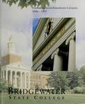 Bridgewater State College Undergraduate/Graduate Catalog 1996-1997 by Bridgewater State College