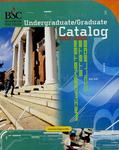 Bridgewater State College Undergraduate/Graduate Catalog 2002-2003