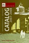 Bridgewater State College Undergraduate/Graduate Catalog 2007-2008