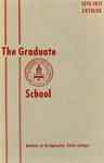 Bulletin of Bridgewater State College: Graduate School, 1970-1971 Catalog