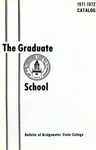 Bulletin of Bridgewater State College: Graduate School, 1971-1972 Catalog