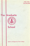 Bulletin of Bridgewater State College: Graduate School, 1972-1973 Catalog