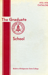 Bulletin of Bridgewater State College: Graduate School, 1973-1974 Catalog by Bridgewater State College