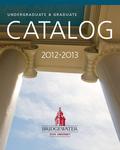 Bridgewater State University Undergraduate & Graduate Catalog 2012-2013
