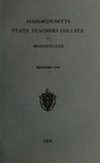 Massachusetts State Teachers College at Bridgewater. 1932  [Catalog]