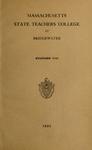 Massachusetts State Teachers College at Bridgewater. 1933 [Catalog] by Bridgewater State Teachers College