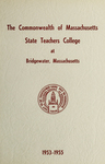 State Teachers College at Bridgewater. 1953-55. [Catalog]