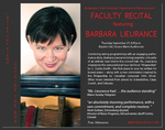 Inside the Piano, Outside the Box: Faculty Recital featuring Barbara Lieurance (Sept. 2012)