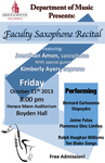 Faculty Recital: Jonathan Amon (October 11, 2013) by Jonathan Amon