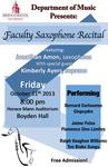 Faculty Recital: Jonathan Amon (October 11, 2013)