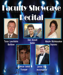 Faculty Showcase Recital (March 1, 2016) by Taras Leschishin, Daniel Acsadi, Maryte Bizinkauskas, James Hay, and Spencer Aston