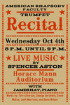 Faculty Trumpet Recital (October 4, 2017) by Spencer Aston