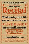 Faculty Trumpet Recital (October 4, 2017)