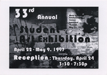 33rd Annual Student Art Exhibition