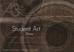 43rd Annual Student Art Show