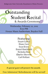 Outstanding Student Recital & Awards Ceremony (Feb. 2012)