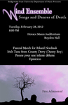 Bridgewater State University Wind Ensemble: Songs and Dances of Death (Feb. 2012)