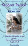 Student Recital: Kurumi Ueno, Piano (November 2011)