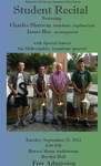 Student Recital: Charles Sherwin, Trombone and Euphonium (September 2012)
