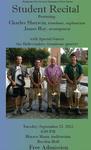 Student Recital: Charles Sherwin, Trombone and Euphonium (September 2012) by Charles Sherwin