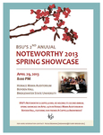 Noteworthy 2013 Spring Showcase (April 29, 2013)