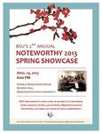Noteworthy 2013 Spring Showcase (April 29, 2013) by Bridgewater State University Noteworthy