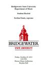 Student Recital: Jordan Ennis (October 29, 2013) by Jordan Ennis