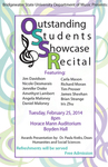 Outstanding Students Showcase Recital (February 25, 2014)