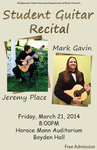 Student Guitar Recital (March 21, 2014)